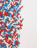 Red, White and Blue Sprinkles Royalty Free Stock Images
