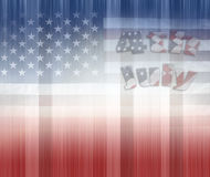 Red white and blue Royalty Free Stock Photos