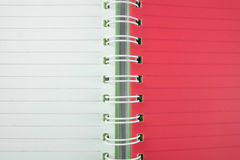 Red and white book line background Stock Photos