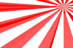 Red & White burst. Abstract background stock illustration