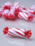 Red and white candy Royalty Free Stock Image