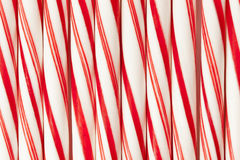 Red and White Candy Cane Stock Image