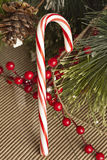 Red and White Candy Cane Royalty Free Stock Images