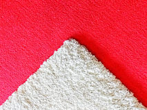 Red and white carpet Royalty Free Stock Image