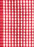 Red and white check Royalty Free Stock Images