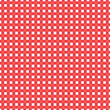 Red and white checked tablecloth Royalty Free Stock Images