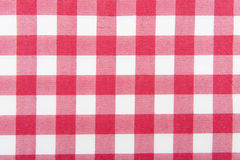 Red and white checkered Royalty Free Stock Photos