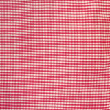 Red and white checkered dish towel Stock Image