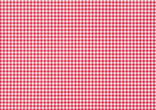 Red-white checkered paper background Royalty Free Stock Photo