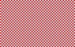 Red and white checkered tablecloth background.Texture from rhombus for - plaid, tablecloths, clothes, shirts, dresses, paper, bed. Ding, blankets, quilts and royalty free illustration