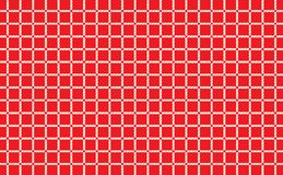 Red and white checkered tablecloth background.Texture from rhombus for - plaid, tablecloths, clothes, shirts, dresses, paper. Bedding, blankets, quilts and stock illustration