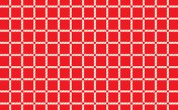 Red and white checkered tablecloth background.Texture from rhombus for - plaid, tablecloths, clothes, shirts, dresses, paper. Bedding, blankets, quilts and royalty free illustration