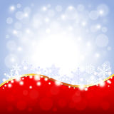 Red and white Christmas background Stock Photos