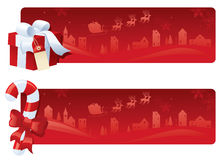 Red and White Christmas Stock Photos