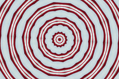 Red and white circles. Image of red and white circles. Photograph manipulated in Photoshop 0 Stock Photos