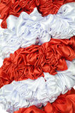 Red and white cloth Royalty Free Stock Photography