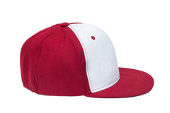 Red and White color baseball caps Royalty Free Stock Photos