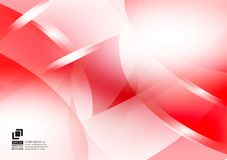 Red and white color geometric abstract vector background, Modern design stock photos