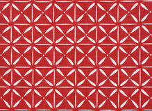 Red and White Cotton Fabric Stock Photo