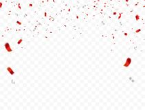 Free Red White Design, Confetti Concept 17 August Happy Independence Day Greeting Background. Celebration Vector Illustration. Stock Photos - 120372473