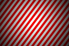 Red and white diagonal lines Stock Images