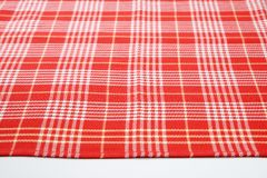 Red and white dishtowel Royalty Free Stock Photography