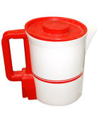 Red and White Electric Jug Stock Photography