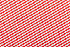 Red and white fabric striped pattern Stock Images