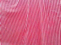 Red and white fabric Royalty Free Stock Image