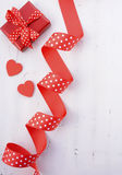 Red and White Festive Background. Stock Image