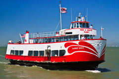 Red and White Fleet, Bay Cruise, San Francisco Royalty Free Stock Images