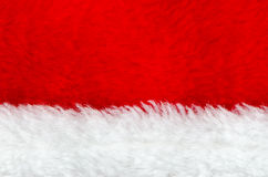 Red and white fur Royalty Free Stock Photography