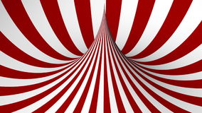 Red and white geometric shape stock video
