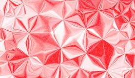 Red and white geometrical wallpaper. And useful background for design or wallpaper royalty free illustration