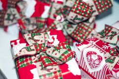 Red and White Gift Box Royalty Free Stock Photo