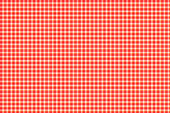 Red and white gingham Royalty Free Stock Photo