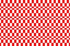 Red and white Gingham pattern.Texture from rhombus for - plaid,tablecloths,clothes,shirts, dresses,paper,bedding,blankets,quilts. And other textile products royalty free illustration
