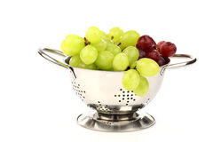 Red and white grapes Royalty Free Stock Images