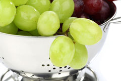 Red and white grapes Royalty Free Stock Image