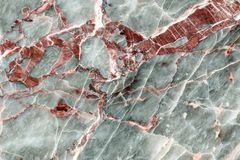 Red, white and gray polished stone surface Royalty Free Stock Images