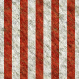 Red white grunge stripes. Will tile seamlessly as a pattern Stock Photos