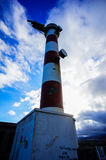 Red and White Lighthouse Royalty Free Stock Photo