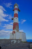 Red and White Lighthouse Royalty Free Stock Photography