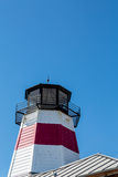 Red and White Lighthouse Stock Photos