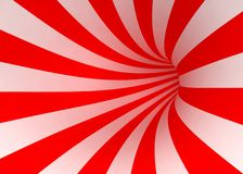 Red and white lines Stock Photo