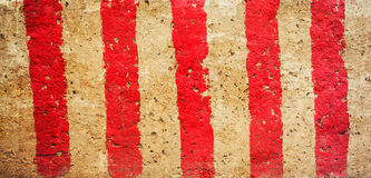 Red and white lines Royalty Free Stock Image
