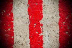 Red and white lines Royalty Free Stock Images