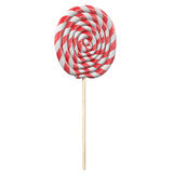 Red and white lollipop 3d rendering Royalty Free Stock Images