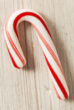 Red and White Mini Candy Canes Stock Photo