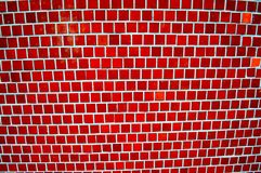red and white mosaic royalty free stock photo